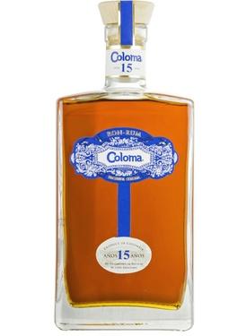Rhum Colombie Coloma 15 Ans