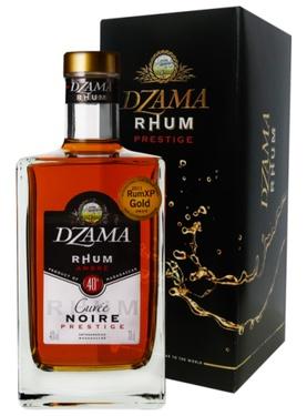 Rhum Madagascar - Dzama - Prestige Noire