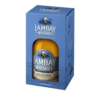 Whiskey Irlande Blend Lambay Small Batch 43% 70cl