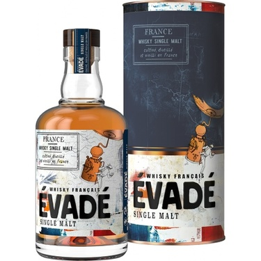 Whisky France Evade Peated Single Malt 43% 70cl
