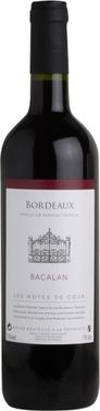 Bordeaux Rouge Bacalan Notes De Coeur 2016