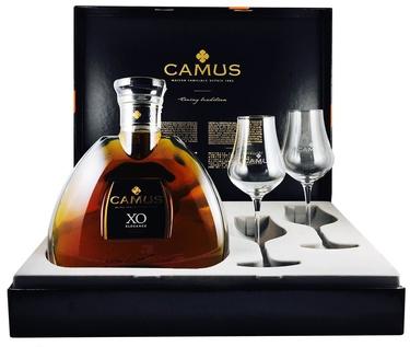 Cognac Camus Xo Coffret 2 Verres 40% Vol