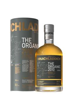 Whisky Ecosse Islay Single Malt Bruichladdich The Organic 2010 50% 70cl